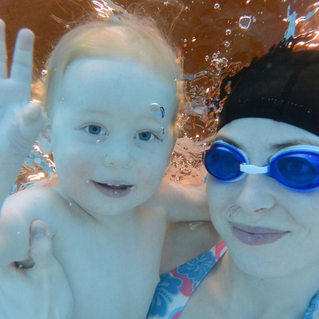 Plavání dětí 0 - 6 let